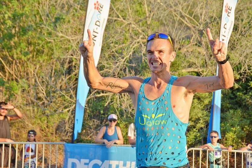 Spécialiste des courses longues distances, Ludovic Lanceleur voulait participer au Sunset Trail pour  « gagner un peu en vitesse ». Photo C.G.