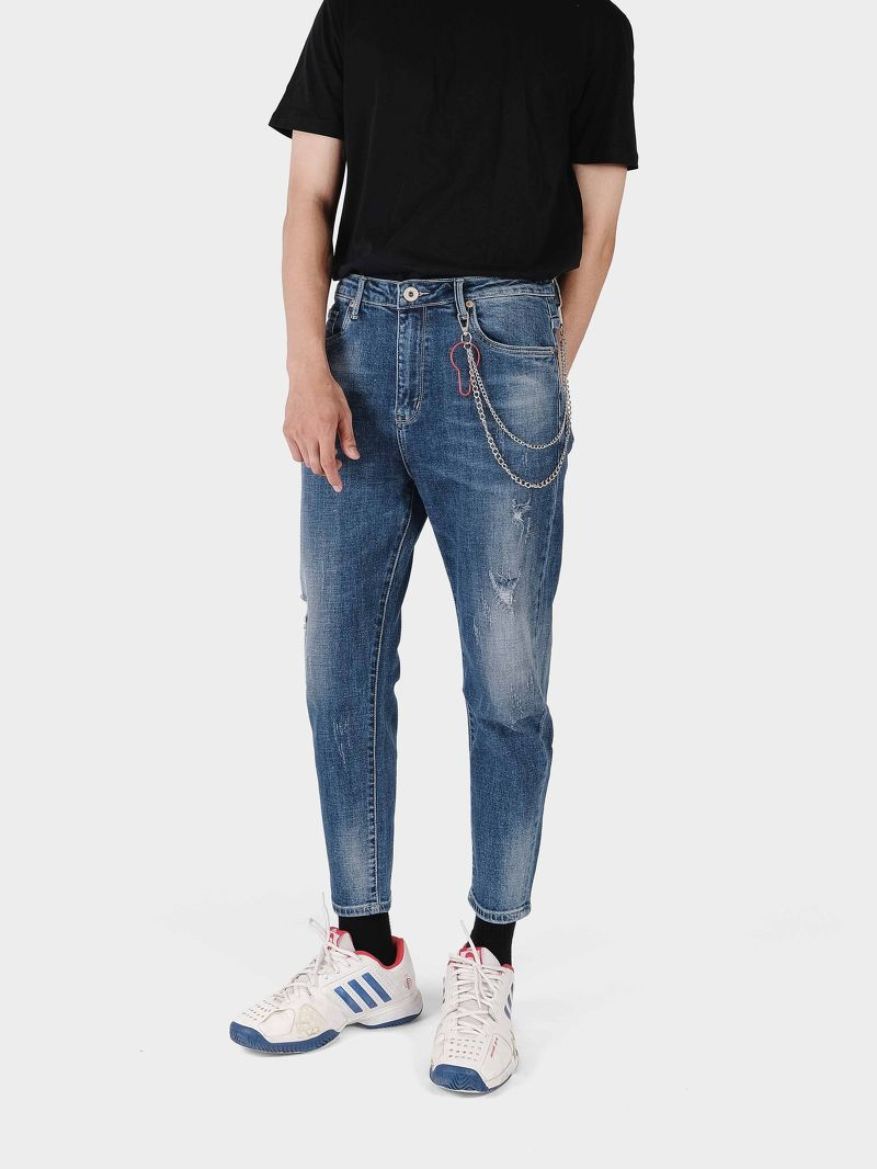QUẦN JEANS RELAXED FIT 9307