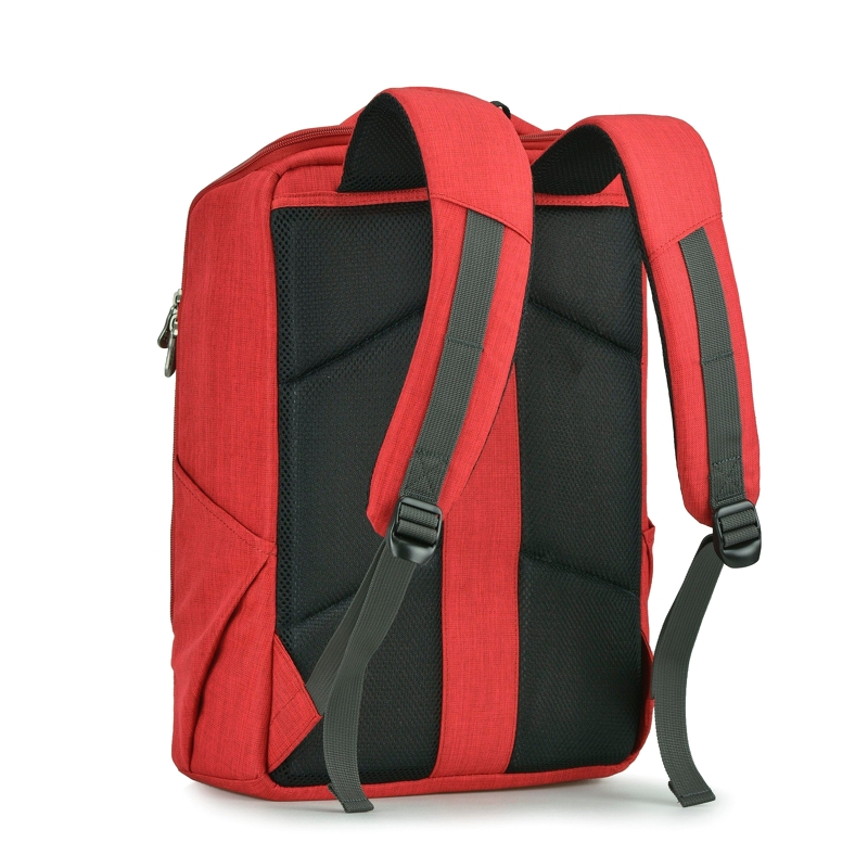 Balo laptop Mikkor The Lewie Backpack Red