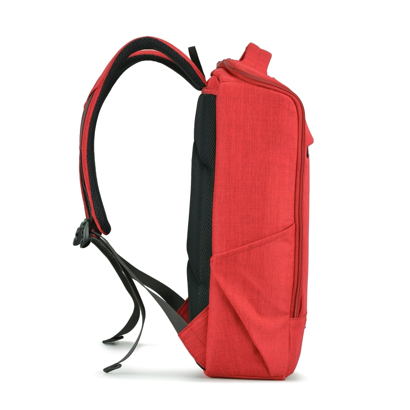 Balo laptop Mikkor The Lewie Backpack Red 1