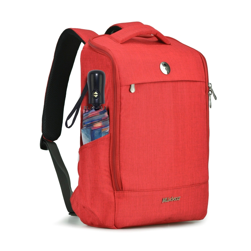 Balo laptop Mikkor The Lewie Backpack Red 2