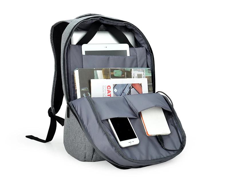 Balo laptop AGVA Metropolitan 15.6' Xám-LTB356GRE