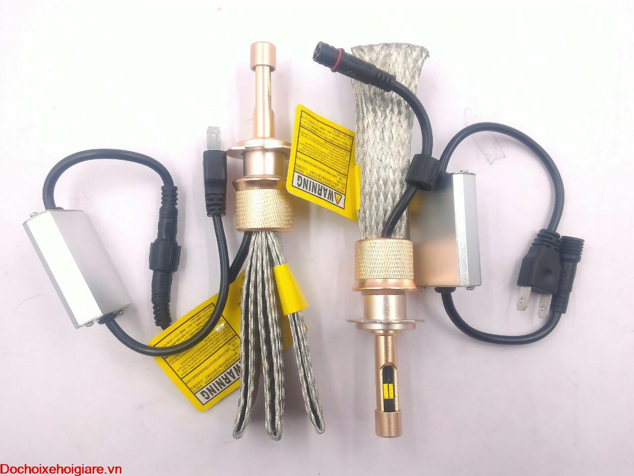 Led Philips Lumileds 2 dải sáng màu 3000K - 6000K H7 40W - 5500LM. Bóng đèn pha led ô tô xe hơi xe máy