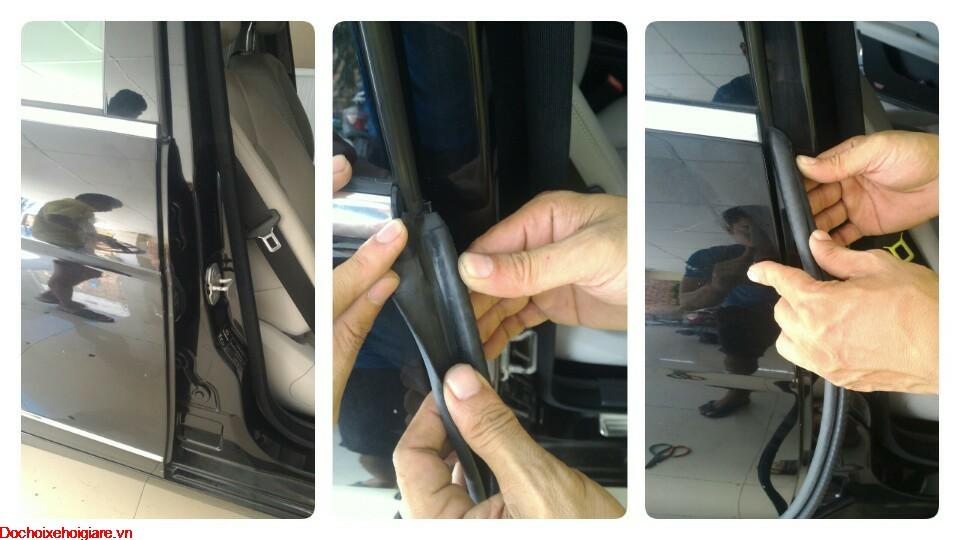 Gói gioăng cao su chống ồn ô tô bằng gioăng lõi thép cột B