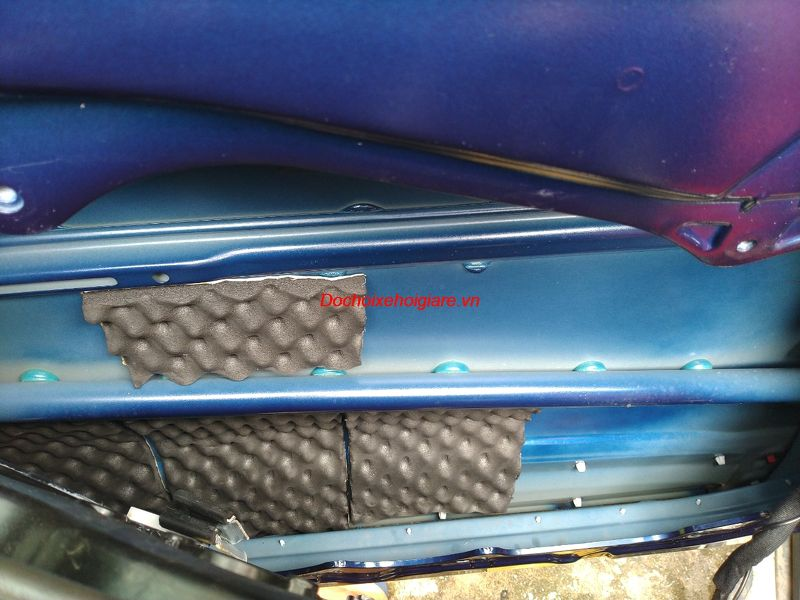 Nâng cấp âm thanh Huyndai Santafe 2019 bằng loa ô tô Harman Kardon Logic7 150W 8 ohm, màng kim loại