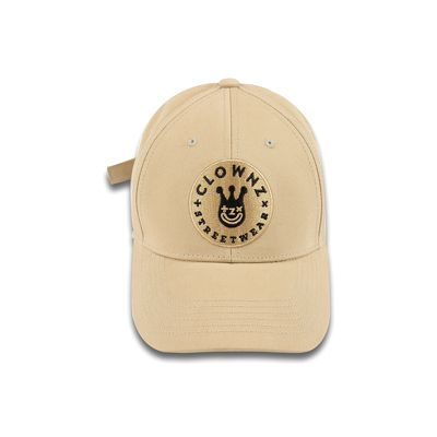 ClownZ Smile Face Cap Beige