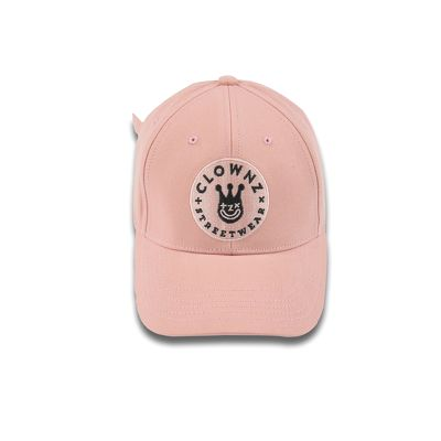ClownZ Smile Face Cap Pink