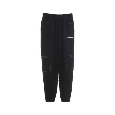 ClownZ Cargo Sweatpants - Black