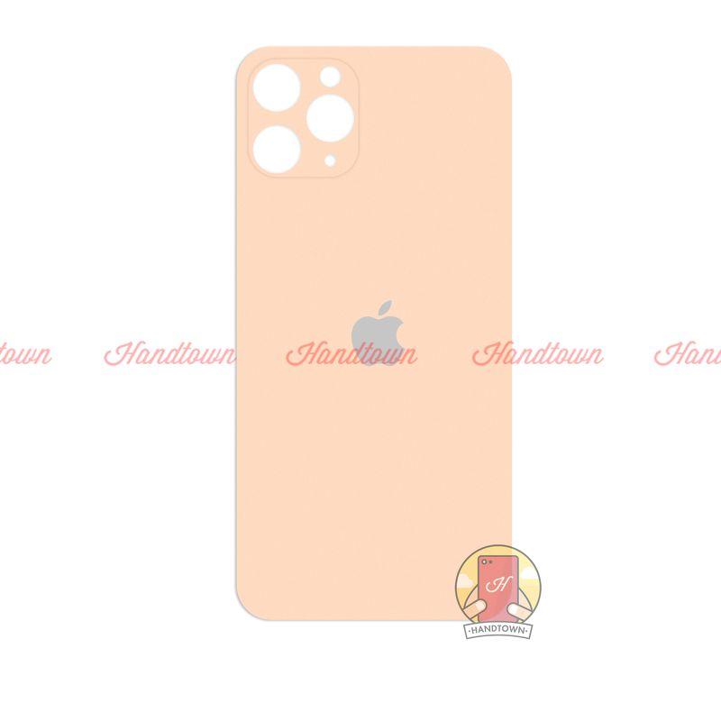 Dán Lưng Nhám Mặt Sau iPhone 11 Pro 5.8 Inches Màu Vàng Gold