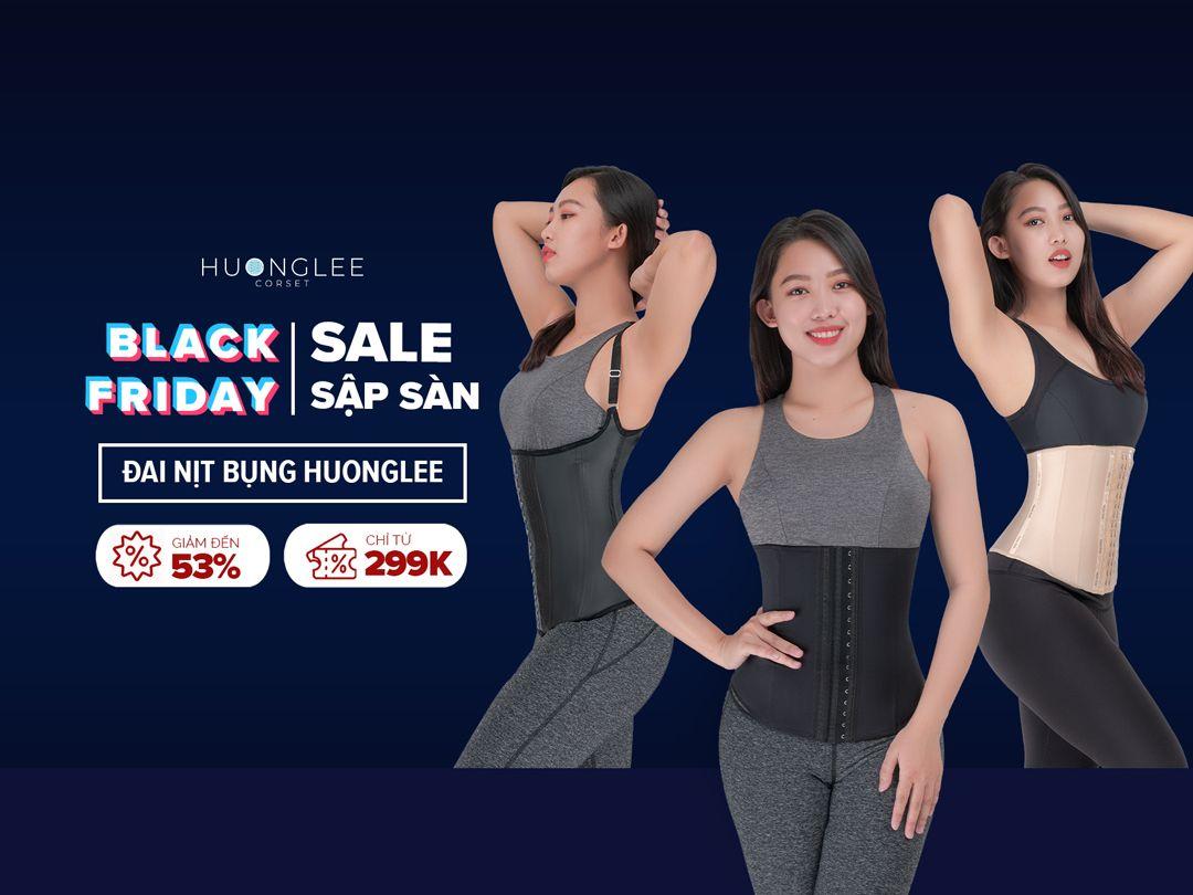 Black Friday sale sập sàn, Huonglee Corset giảm đến 53% đồng giá X99K