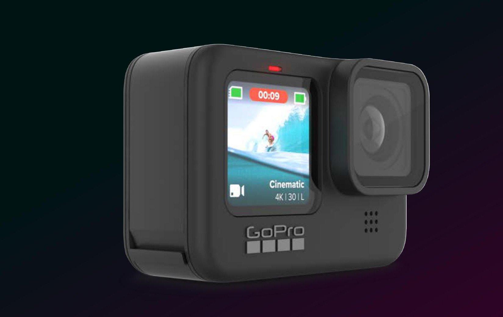 GoPro Hero 9 - Thời lượng sử dụng lâu hơn