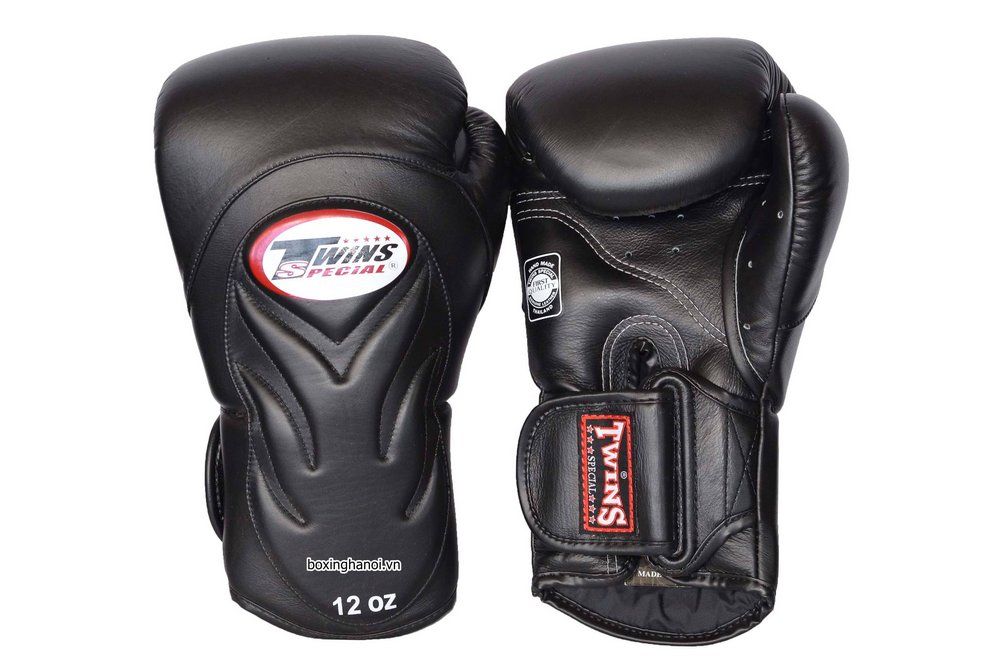 GĂNG TAY BOXING TWINS SPECIAL IRON ĐEN