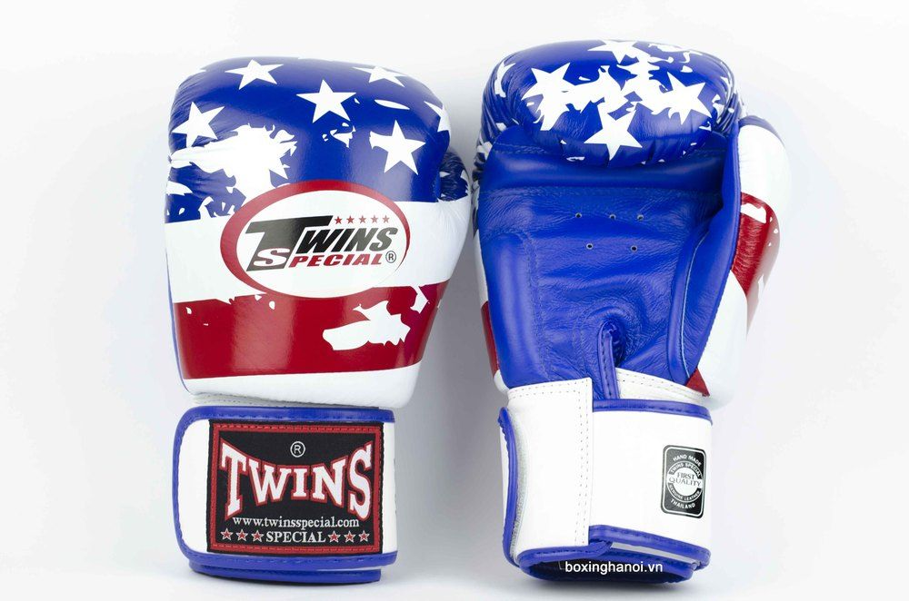 GĂNG TAY BOXING TWINS SPECIAL CỜ U.S.A