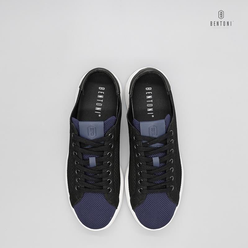 The Light Sneaker   Đen (vải)