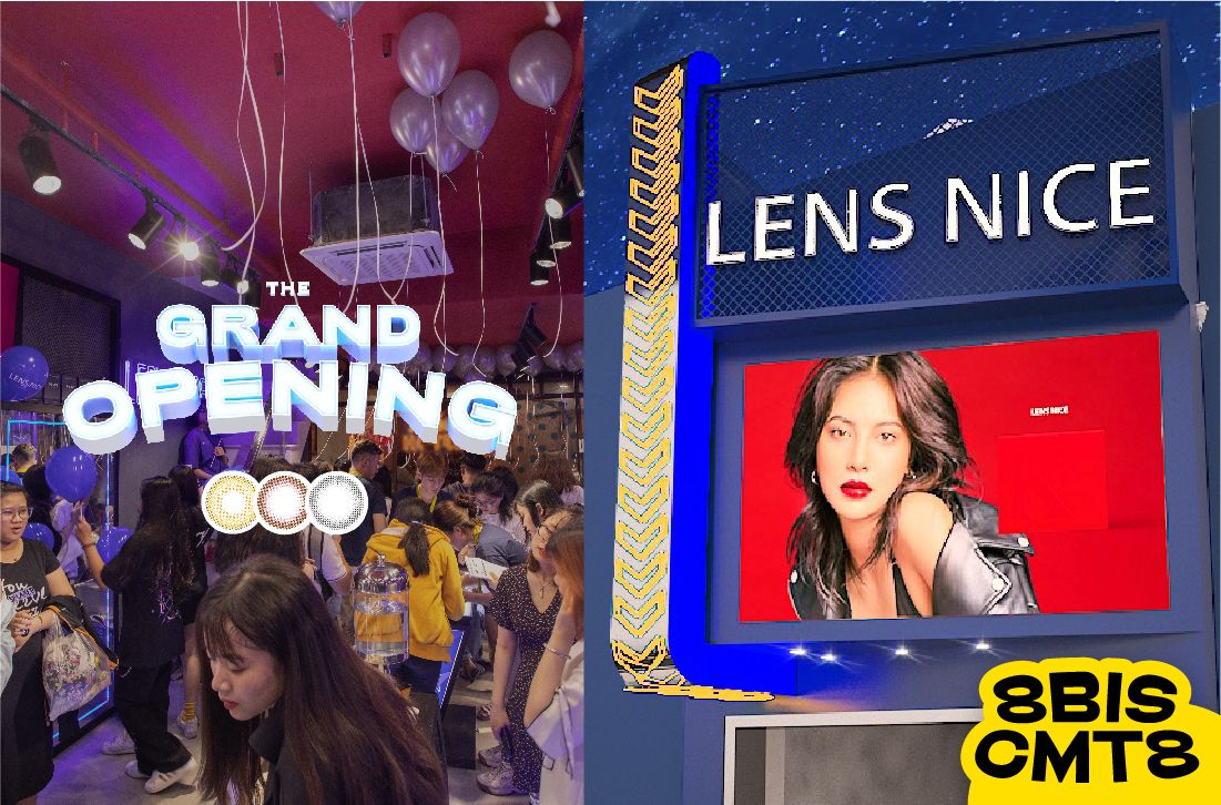 GRAND OPENING LENS NICE CMT8