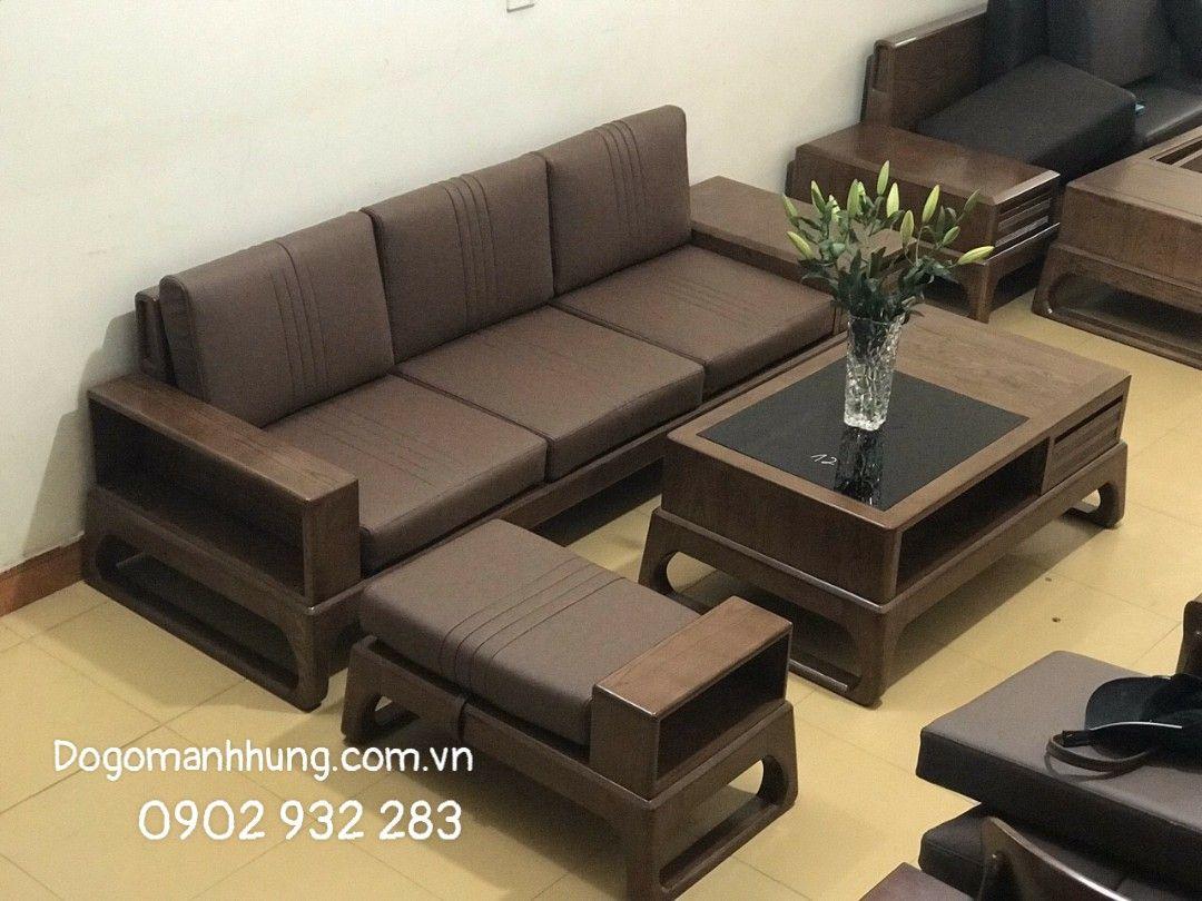 Sofa gỗ sồi MS 9.9