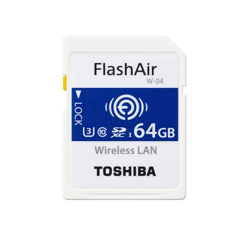 Toshiba WiFi FlashAir W-04 U3 64GB