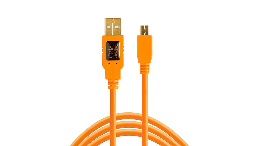 TetherPro USB 2.0 to Mini-B 5-Pin
