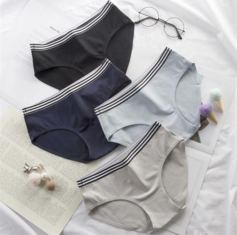 Quần lót nữ cotton sọc eo cao cấp 8211 gợi cảm sang trọng nhã nhặn - nội y siêu sỉ www.noiysieusi.com