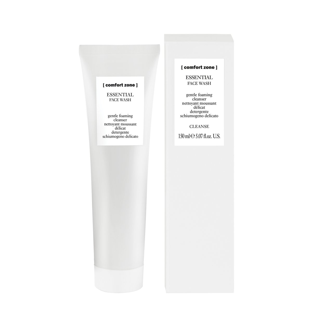 Kem Rửa Mặt Tạo bọt dịu nhẹ Comfort Zone Essential Face Wash 150ml (HSD: 10/23)