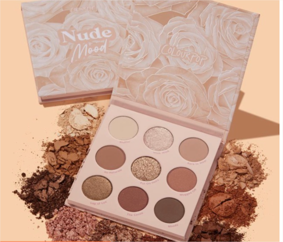 Colourpop Nude Mood Eyeshadow Palette 9 Shades Authentic