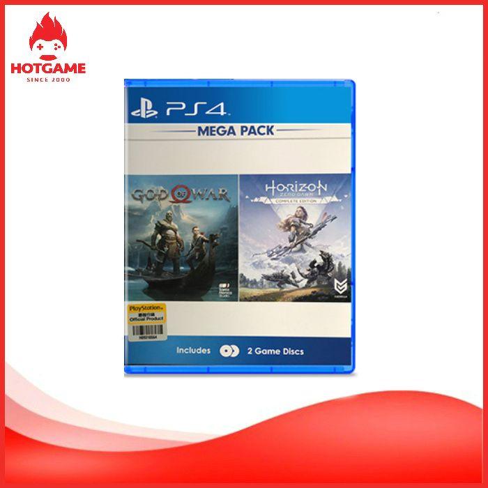 Bộ 3 đĩa game GOW 4, Horizon và GTA 5