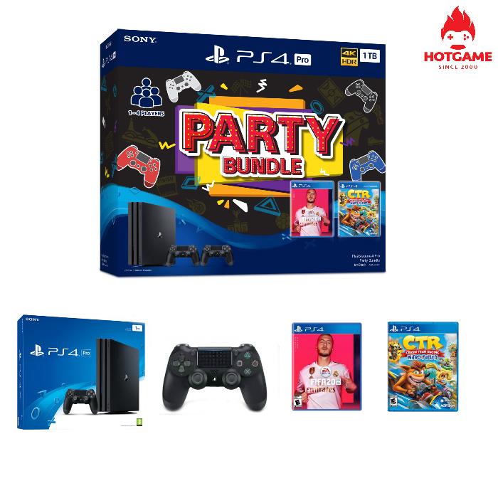 Máy PS4 Pro party bundle hàng chính hãng Sony Việt Nam