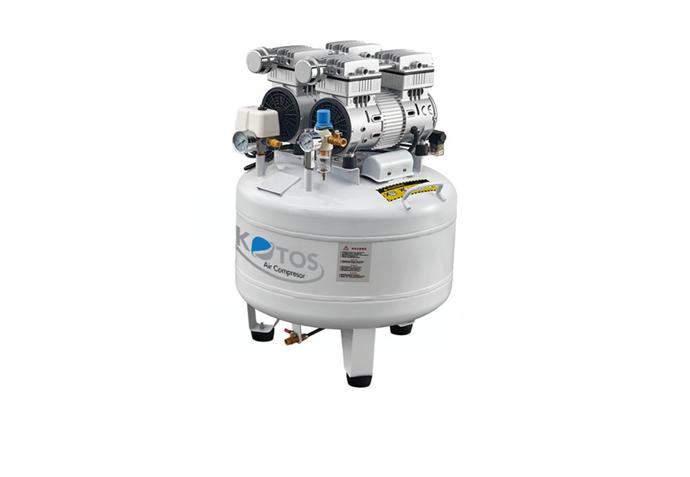 Máy nén khí không dầu HD750*2 - 65L