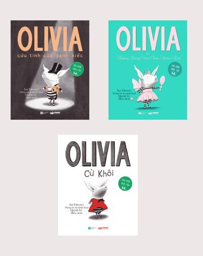 Bộ Ba Cuốn Olivia