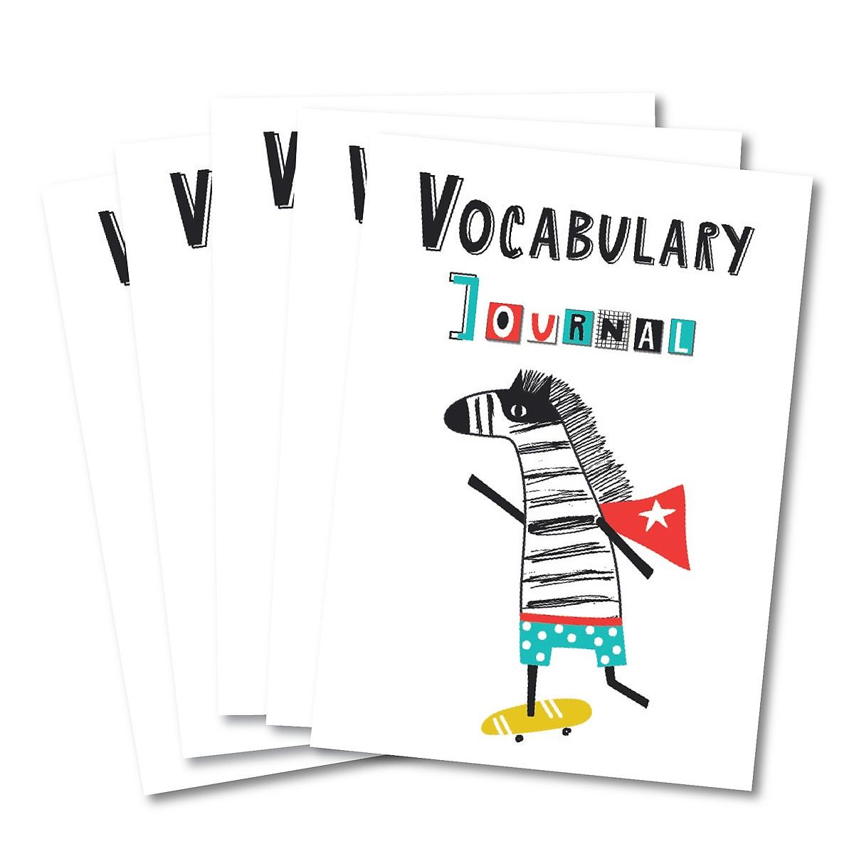 Combo 5 vở học từ mới - Ngựa Vằn