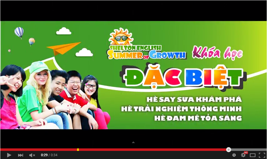 Lớp Growing Kids - Summer Of Growth 2015