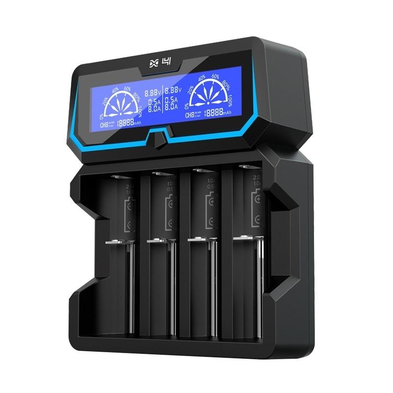 Sạc pin đa năng Xtar - X4 - Fast-charging LCD Li-ion/Ni-MH Battery Charger