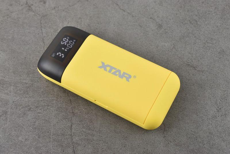 Sạc pin Xtar - PB2S Vàng - Tích hợp tính năng sạc dự phòng (Màu vàng)