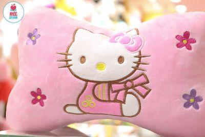 Gối kê xe hơi - Hello kitty hồng - 25001