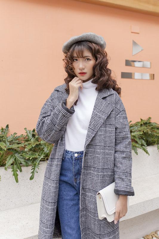 Áo len cổ 3cm 8088