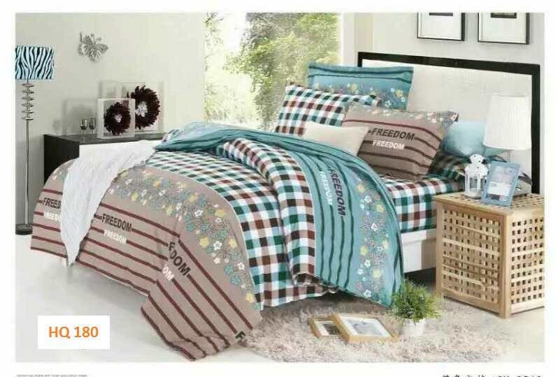 Bộ drap MỀN cotton lụa HQ180