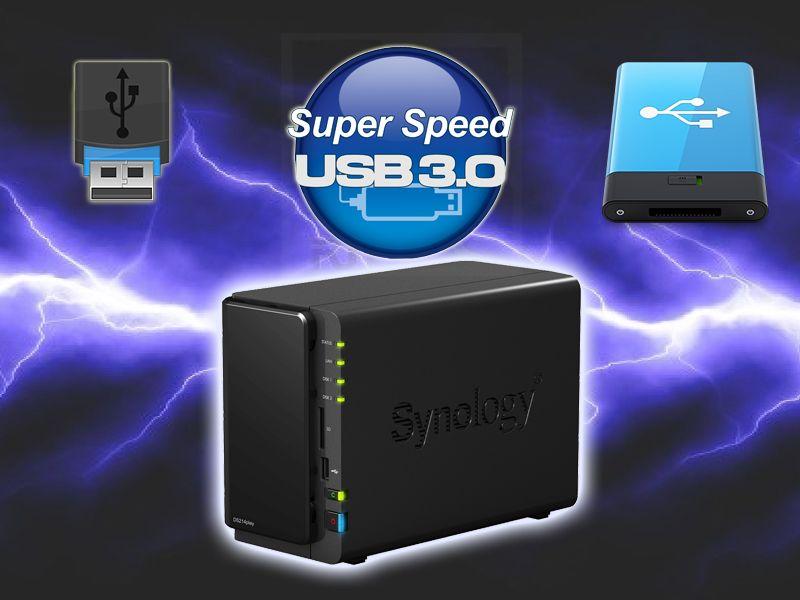 Huong dan gan Box HDD, USB de mo rong dung luong, chep file vao NAS