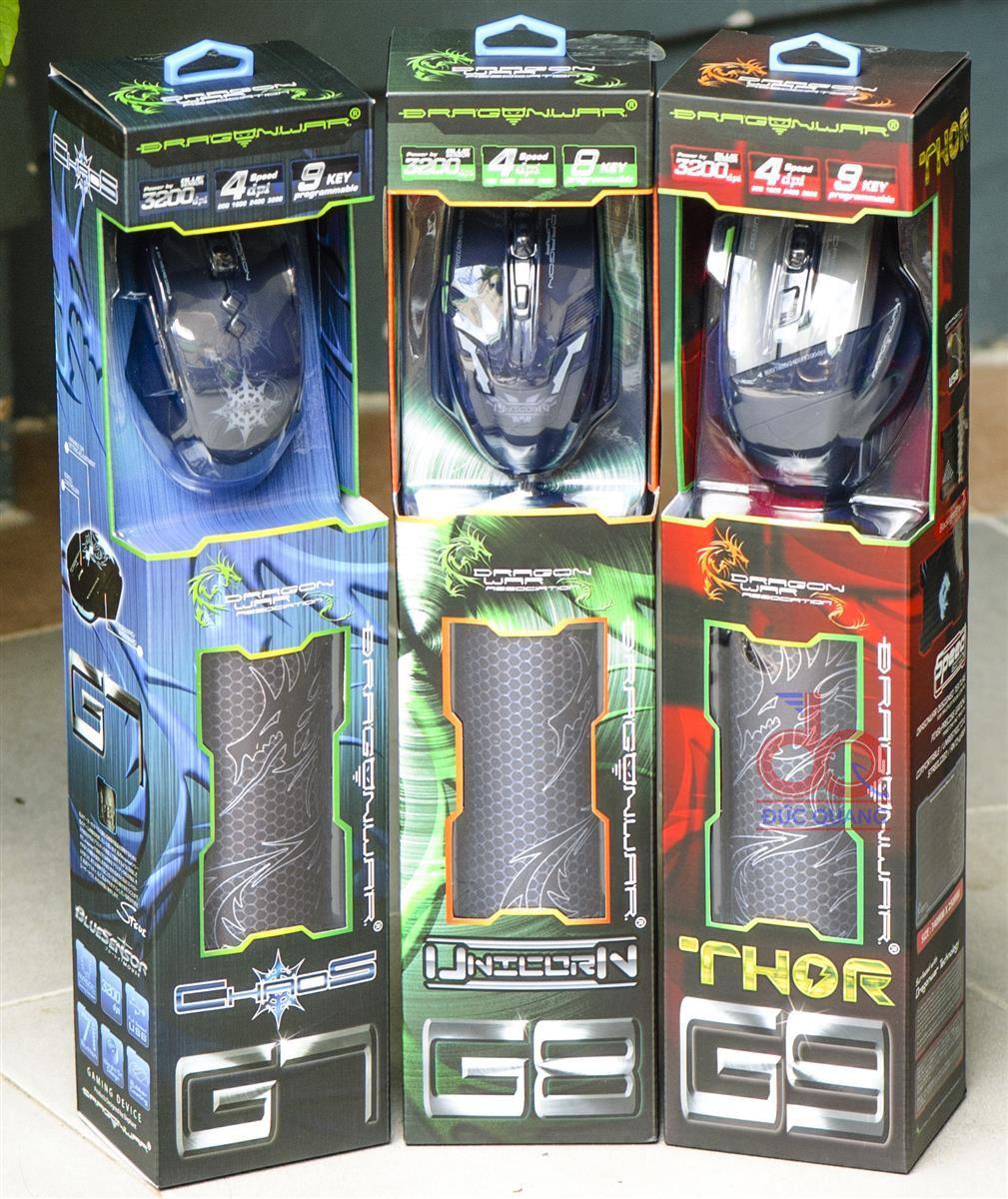 Dragon War Thor G9, G7, G8 chi co tai Duc Quang Solutions