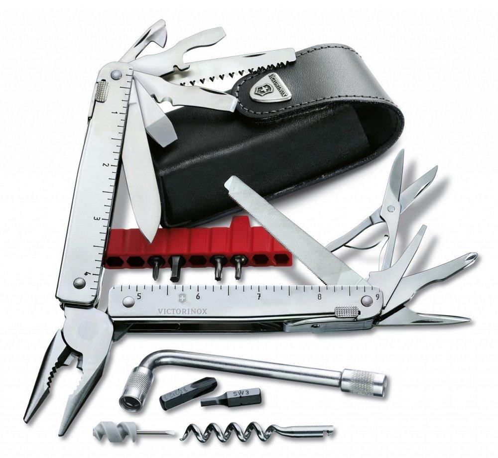 SwissTool X Plus (3.0338.L - Kèm theo bộ Kit Multi Tools - With Wrench)