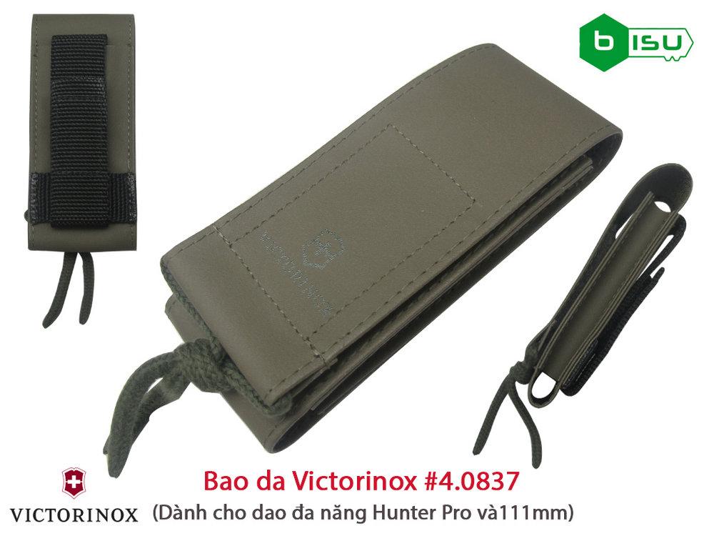 Phụ kiện Victorinox - Bao da Victorinox 4.0837.4US2 Hunter Pro (Màu xanh quân đội)