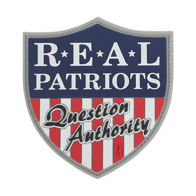 Maxpedition - Phù hiệu Real Patriots Morale (Real Patriots - Người yêu nước) - Bản Full color - Cao