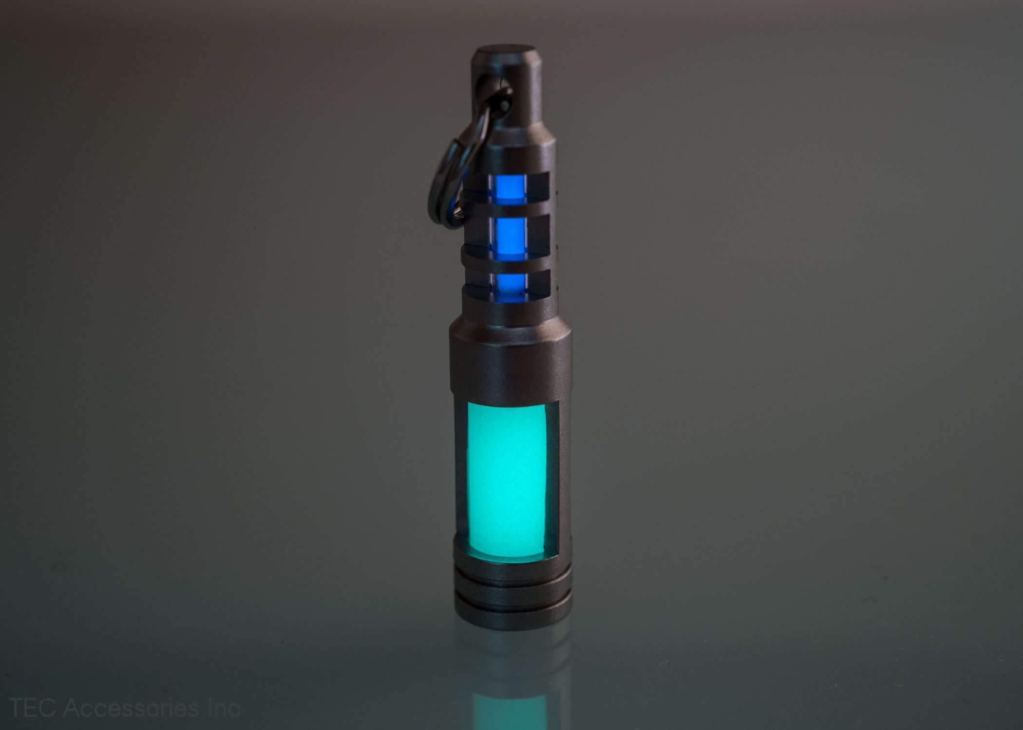 TEC-SCR-EA Isotope Chain Reaction Fob Aqua Glow ( không kèm tritium)