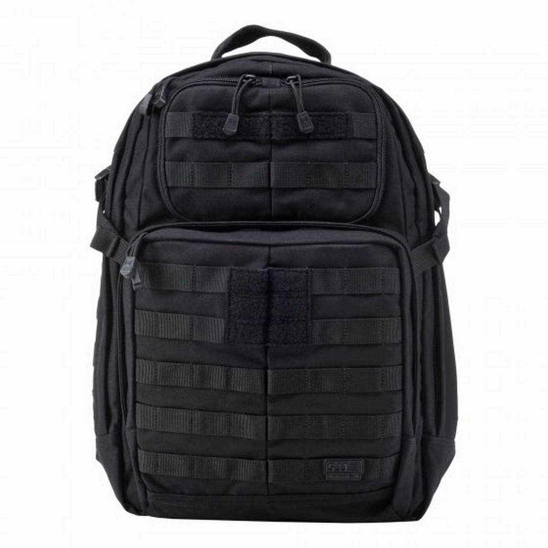 5.11 - Ba lô RUSH 24 Backpack ( 019 Black - màu Đen)