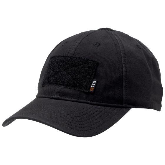 5.11 - Mũ lưỡi trai FLAG BEARER CAP (019 Black - Màu Đen)