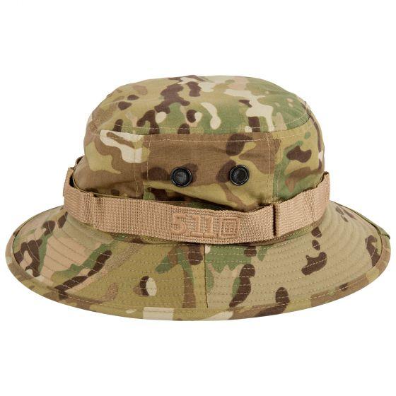 5.11 - Mũ vành rộng BOONIE Hat Muticam (169 Multicam - Màu rằn ri - Size M/L)