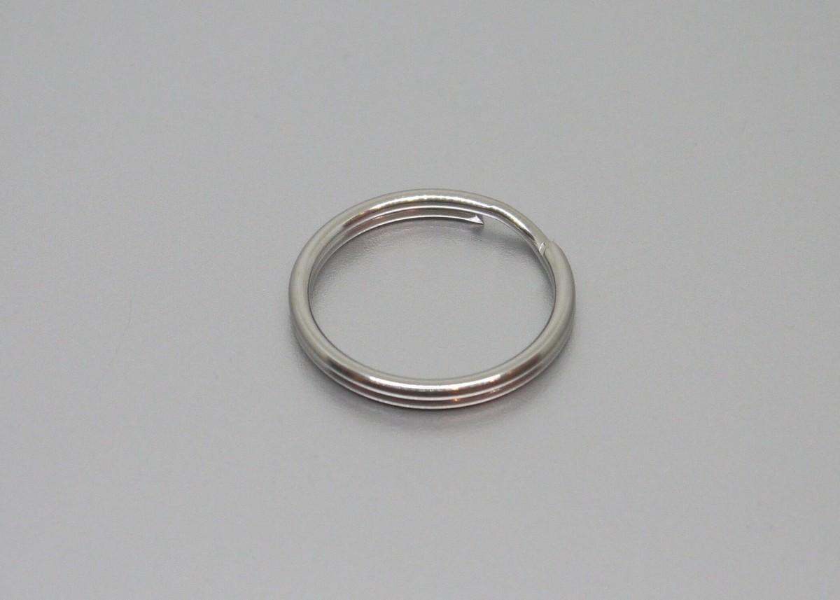 TEC - Móc khóa tròn Split Ring (Size #4 - Thép không gỉ)