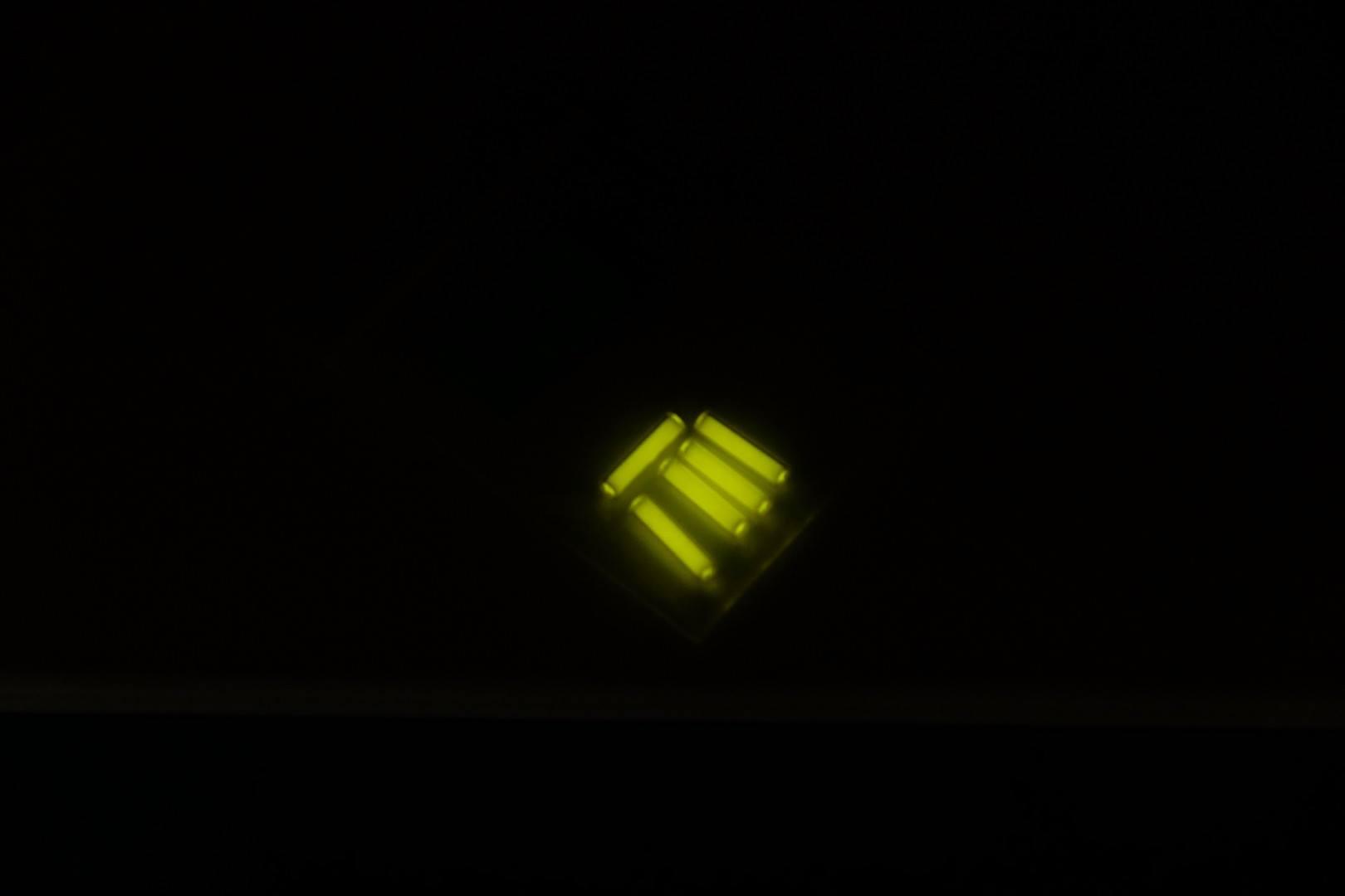 TEC - Thanh Phát Sáng Tritium Vial Yellow (Màu Vàng - Loại ngắn 11mm)
