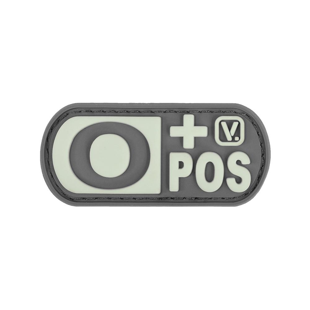 Vanquest - Phù hiệu Blood Type O+ Positive -