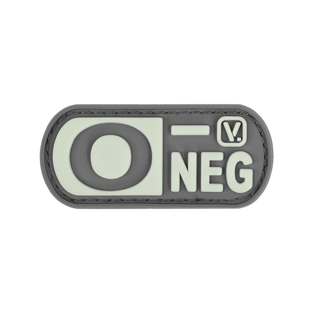 Vanquest - Phù hiệu Blood Type O- Negative -