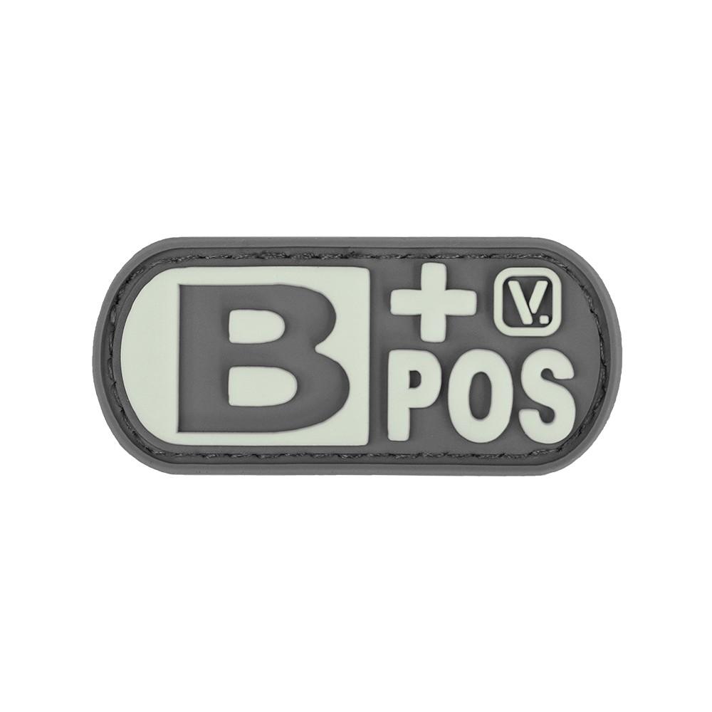Vanquest - Phù hiệu Blood Type B+ Positive -